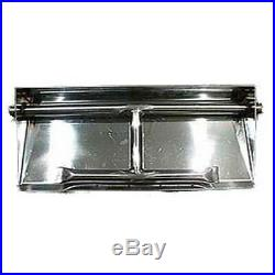 14 20 26 32 Stainless Steel Dual Burner Pan Fire Pit Fire Glass Gas Logs