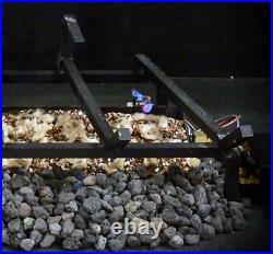 18 24 30 Dreffco Blazing Oak Premium Vented Gas Log Kit With Remote Start