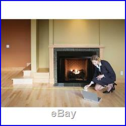 24In Large Vent Free LP Propane Gas Fireplace Logs Remote Fire Glass Grate Heat