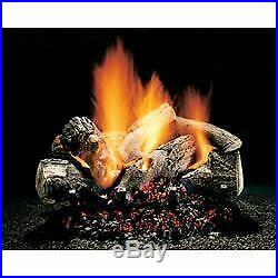24 Hargrove Burnt Oak, Vented, Gas Logs Only, Rga 2-72 Approved
