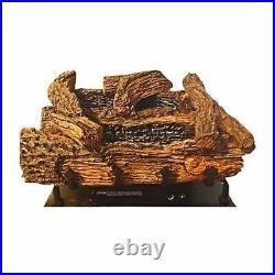 24 Manual EverWarm Palmetto Oak Gas Logs and BUF400 Firebox LP