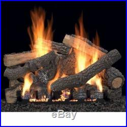 24 Ponderosa Vent Free Gas Logs with Variable Control NG