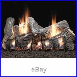 24 Sassafras Vent Free Gas Logs with Intermittent Pilot NG