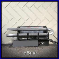 24 inch Unvented Natural Gas Fake Log Set Insert For Fireplace Heater Kit Burner