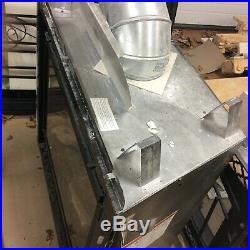 (2) Heat n Glo SL-550TRS-IPI-E gas fireplace insert inserts log brick lot of two