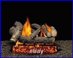 30 Clairmont Logs with Single Match Lit Burner Tube Natural Gas