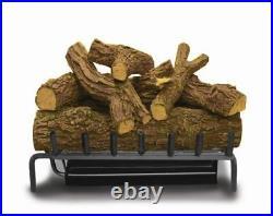 30 Elite Triple Natural Gas Burner and Red Oak Log Set