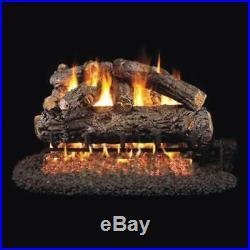 30 Real Fyre Rustic Oak Designer Vented Gas Logs Only
