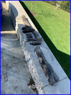36 Vented Gas Log Set Oak