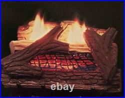 Appalachian Vent Free Gas Log 24 Natural Gas Remote Control UV5100-24N