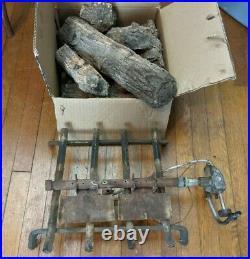 Atlanta Stove Works Model 26 Cast Iron Fireplace wood coal gas log franklin