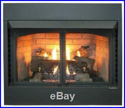 Buck Stove 42 Vent Free Zero Clearance Gas Fireplace with Oak Logs LP
