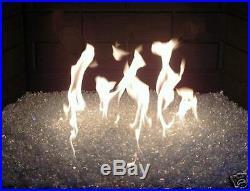 CHUNKY FIREGLASS+ MEDIUM Fireplace Gas Logs Fire Pit