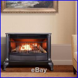 Cedar Ridge Hearth Ventless Natural Gas or Propane Stove Fireplace Home Heater