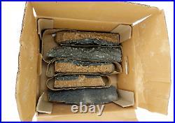 Ceramic Wood Gas Fireplace Fire Pit Log 30 Split Bonfire Propane Gas Inserts