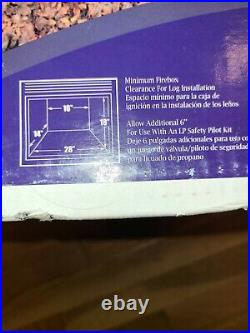 Comfort Glow 18 Vented Gas Logs Baldwin Oak HCVDR18 NEW IN BOX
