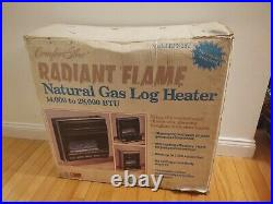 Comfort Glow VentFree Natural Gas Fireplace with Log (28,000 BTU)