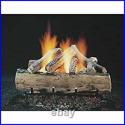 Copperfield 48442 18 Inch Hargrove Seasoned Split Oak, Vented, Gas Logs Only