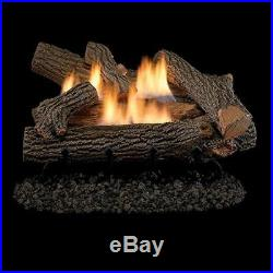 Crescent Hill Vent Free 24 Gas Logs with Millivolt Control NG