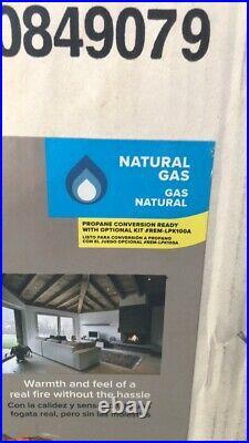 Decorative 18 Vented 45,000 BTU Natural Gas or Propane Gas Log Set