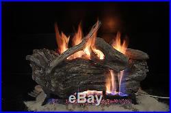 DriftWood 24 ceramic gas log set