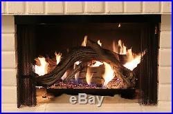 DriftWood 30 ceramic gas log set