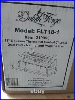 Duluth Forge Vent-Free Gas Log Chassis