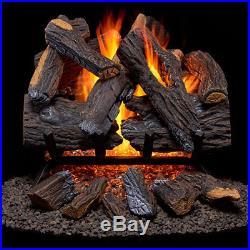 Duluth Forge Vented Natural Gas Fireplace Log Set DFGE1015