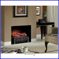 Electric Log Set Heater Insert Fireplace Remote Control Living Room Garage NEW