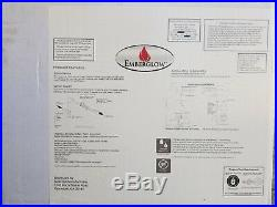 Emberglow 24 Timber Creek Vent Free Dual Fuel Gas Log Set With Thermostat New