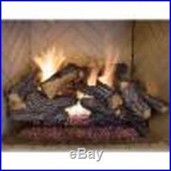 Emberglow 24 in. Split Oak Vented Natural Gas Log Set Fireplace Insert Convert