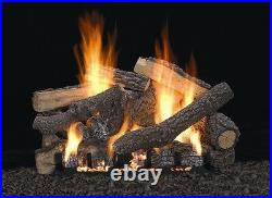 Empire 18 Refractory Ponderosa Log Set Vent Free Remote Ready Natural Gas