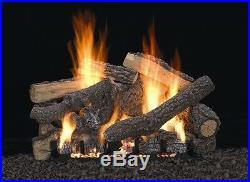 Empire 24 Refractory Ponderosa Log Set Vent Free Remote Ready Natural Gas