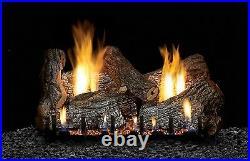 Empire 24 Refractory Sassafras Log Set Vent Free Remote Ready Natural Gas