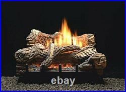 Empire Comfort Flint Hill 24 Ceramic Fiber Gas Logset, VF, Millivolth, NG
