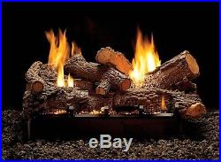 Empire LSU24RR-2 Ceramic Log set for Vented/Unvented see tru gas fireplaces