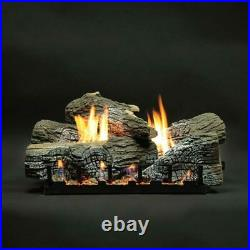 Empire Refractory Stacked Wildwood Gas Logs Only, 24-Inches