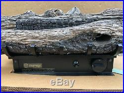 Empire Split Oak Vent Free Gas Log 24 Manual Control