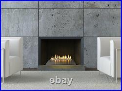 Empire White Mountain Contemporary Loft Vent Free Burner 18 MV Natural Gas