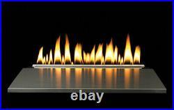 Empire White Mountain Contemporary Loft Vent Free Burner 24 MV Propane