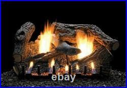 Empire White Mountain Super Sassafras Log Set, 7-pc, 30 Refractory Logs Only