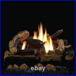 Empire's Breckenridge Vent-Free Firebox Deluxe 36 With Kennesaw 24 Gas Log Set