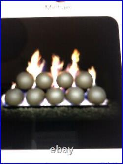 FireBall Set 4 Diameter Natural Gas Vented Rasmussen. Woodland Direct