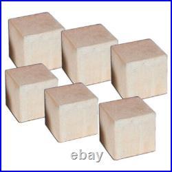 FireShape Small Cube Multi-Pack Black 6pk CUPK-44-BL Gas Log Alternative