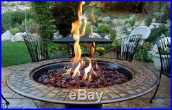 Fire Glass, Amber, Gas Fire Pits, Gas Fireplace, Medium Fireglass, Landscaping