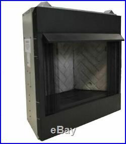 Firebox Fireplace Insert Vent-Free Mesh Screen Dual Fuel Natural Gas Propane