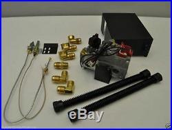 Fireplace Gas Log Millivolt Remote Capable Propane LP Gas Valve Kit MVK-P New