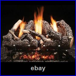 Fireside America Heritage Char Vent Free 24 Gas Logs with Variable Control NG
