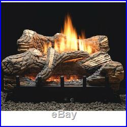 Flint Hill Vent Free Gas Logs 30 On/Off Remote Natural Gas