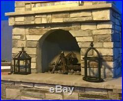 Gas Fire Pit Steel Log Set Steel Logs Metal Fireplace Firepit Custom Logs